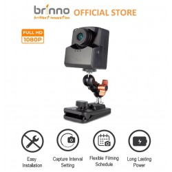 Brinno BBT2000 Health Defender - Full HD 1080P & HDR Contact Tracing Time Lapse Camera Bundle